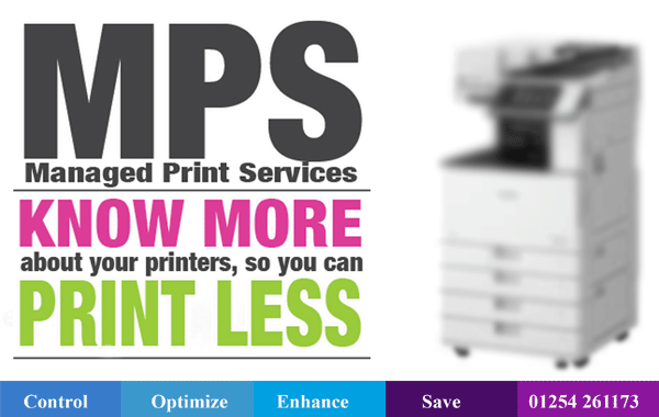 managed print service supplier wigan